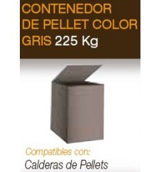 Contenedor de Pellet Ferroli 225 kg