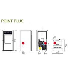 Estufa de Pellet Edilkamin Point Plus