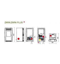Estufa de Pellet Edilkamin Zara Plus