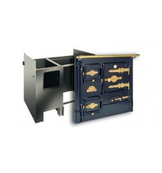 Cocina Calefactora de Leña Hergom L-07 CA2