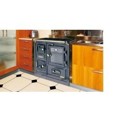Cocina Calefactora de Leña Hergom Saja 8