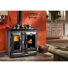 Cocina Calefactora de Leña Nordica Termosuprema Compact D.S.A.