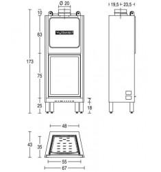 Monobloque de Leña Piazzetta HT 650