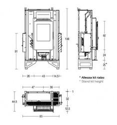Insertable de Pellet Piazzetta MP 938