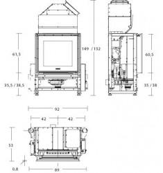 Insertable de Pellet Piazzetta MP 973